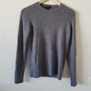 J. Crew Gray Pullover Sweater